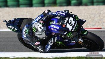 MotoGP: Vinales regola Dovizioso e Quartararo nel warmup di Assen, Rossi 13°