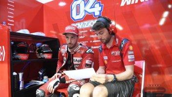 """MotoGP: Dovizioso: """"Abbiamo migliorato in curva, ma Marquez è ancora davanti"""""""