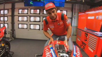 MotoGP: Petrucci opens the doors of his 'office' in Mugello