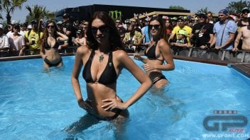 MotoGP: Monster Girls warm up Barcelona
