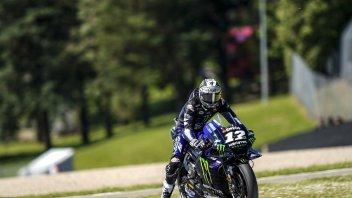 """MotoGP: Vinales: """"Ad ogni giro mi ritrovo a combattere con la Yamaha"""""""