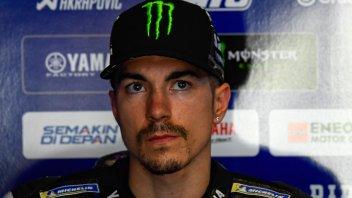 """MotoGP: Vinales: """"Altri hanno commesso il mio errore, senza essere penalizzati"""""""