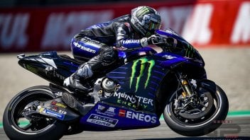 MotoGP: Vinales brings Yamaha back to the top, Rossi took a fall