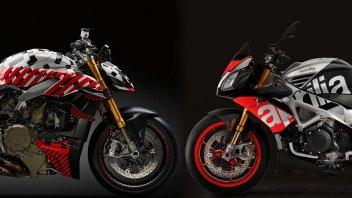 News Prodotto: Ducati Streetfighter V4 e Aprilia Tuono V4: sarà una sfida stellare