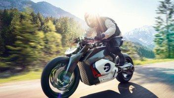 News Prodotto: BMW Motorrad Vision DC Roadster: lo sguardo al futuro