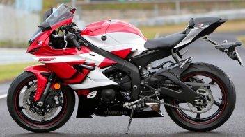 News Prodotto: Livrea speciale per la Yamaha YZF-R6: omaggio alla moto del 1999