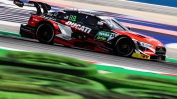 "News: Dovizioso in the DTM: ""I made mistakes in the race and learned a lot"""