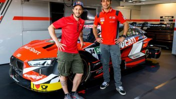 "News: Dovizioso: ""On the Audi DTM, my heart was in my throat"""