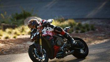 News: La Ducati Streetfighter V4 in pole alla Pikes Peak