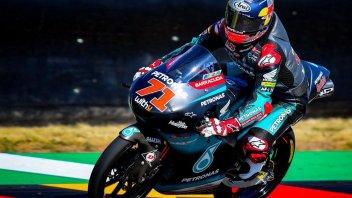 Moto3: Sasaki si prende la pole al Sachsenring. Male Canet, partirà 22°