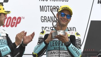 """Moto3: Dalla Porta: """"Mi ero rotto di arrivare 2°, mi serviva una vittoria"""""""