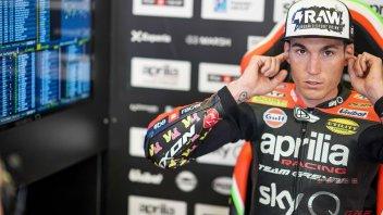 "MotoGP: A. Espargarò: ""Le ho provate tutte con Aprilia, ora tocca a Rivola"""