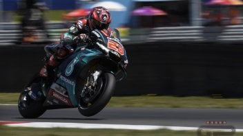 MotoGP: FP1 Sachsenring, Quartararo su Marquez di un soffio. Rossi 3°