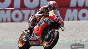 MotoGP: FP2 Sachsenring, Marquez leader su Rins e Quartararo. Rossi in Q2