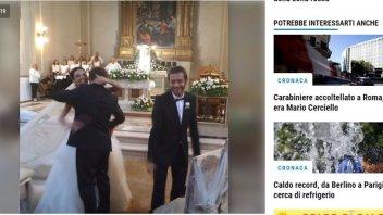 MotoGP: Matrimonio a due ruote per Uccio e Pamela a Tavullia