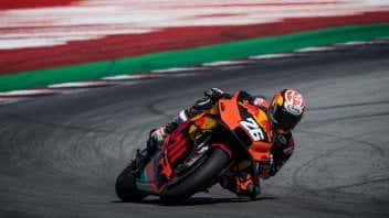 MotoGP: July: Riders on vacation and test riders on the track