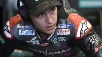 "MotoGP: Quartararo: ""I love riding with the soft tyre, it's so much fun"""