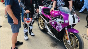 MotoGP: Casey Stoner di nuovo in sella a Goodwood