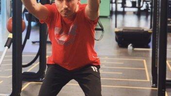 MotoGP: Jorge Lorenzo è già tornato in palestra: continuo a lottare, non mollare mai