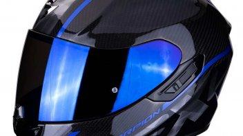 Moto - News: Scorpion Exo 1400 Air Carbon: il casco GT, dal look racing