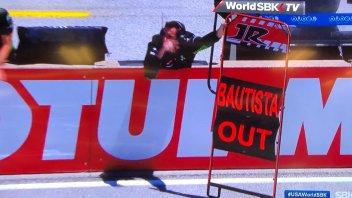 SBK: Gara1, Laguna Seca: Bautista, un'altra caduta, addio mondiale