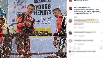 SBK: Troy Bayliss teamed up with son Oli, winning the Sydney 5 Hours