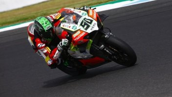SBK: Weekend finito a Donington per Eugene Laverty