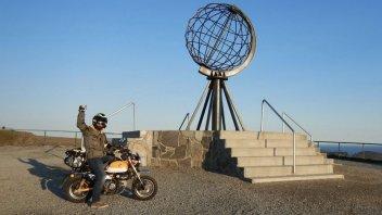 Viaggi: Con l'Honda Monkey da Reggio Calabria a Capo Nord