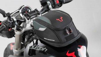 Viaggi: Turismo: caricare la moto con borse morbide e accessori