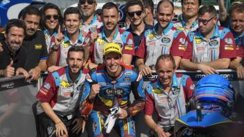 Moto2: Marquez batte Navarro. E' sua la pole a Silverstone