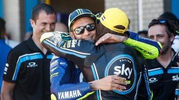 "Moto2: Bulega leaves the VR46: ""I hope Rossi will still be like an older brother"""