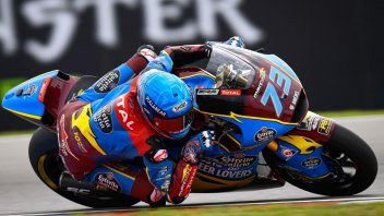 Moto2: Alex come Marc: pole da alieno a Brno, 3° Baldassarri