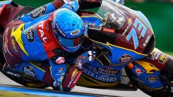 Moto2: Solo Marquez batte i debuttanti italiani a Brno