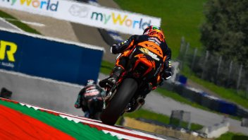 Moto2: FP2: Binder da record in casa KTM, 5° Bastianini