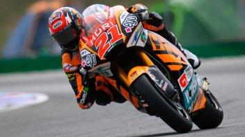 Moto2: FP3: Di Giannantonio in testa, Bulega in scia a Brno