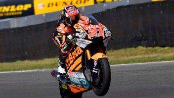 Moto2: FP2: Doppietta tricolore a Brno: 1° Di Giannantonio, 2° Bulega