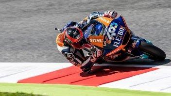 Moto2: Fernandez piega Lecuona, 5° Marini, 9° A. Marquez