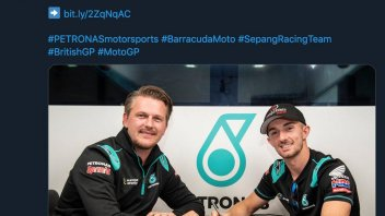 Moto3: John McPhee with Petronas also in 2020