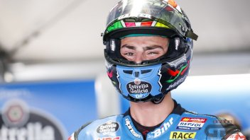 Moto3: Lopez in Austria will start from the pitlane: penalized for aggressive behavior