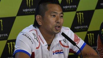 """MotoGP: Takeo: """"Marquez è la priorità per lo sviluppo della Honda"""""""