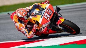 MotoGP: Marquez schiacciasassi, pole da record al Red Bull Ring, 3° Dovizioso