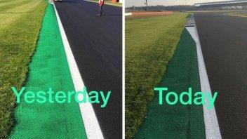 MotoGP: Silverstone: 'allungato' il cordolo alla Curva 6
