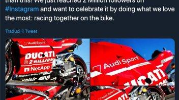 MotoGP: Due milioni di 'cuori' sulla Ducati a Silverstone