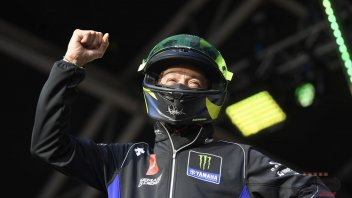 MotoGP: Rossi gets the auction going with his 'used' helmet