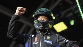 MotoGP: Rossi fa impazzire l'asta con un 'usato garantito'