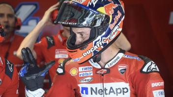 """MotoGP: Dovizioso: """"Rossi è messo bene e domani vorrà vincere a tutti i costi"""""""