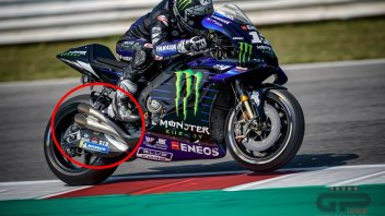 MotoGP: Dual exhaust on Rossi's and Vinales' Yamahas