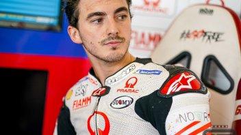 """MotoGP: Bagnaia: """"Non ho preso 2 secondi neanche al primo test in MotoGP"""""""