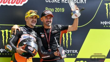"MotoGP: Max Biaggi: ""On the Brno podium for Canet, I felt like a rider again."""
