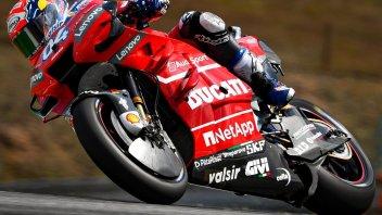 MotoGP: Dovizioso risponde a Marquez nel Warm Up, 19° Rossi